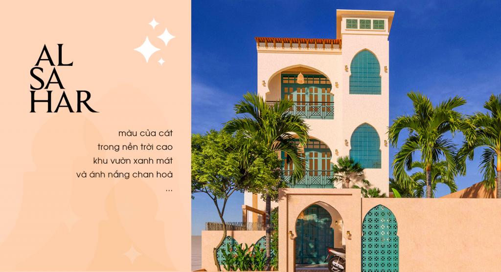 Alsahar Hội An Villa - Lâu đài Ma-rốc xinh đẹp tại Hội An